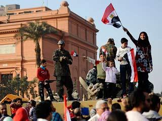 Ver vídeo  'Egipto vive con euforia las primeras horas sin Mubarak'
