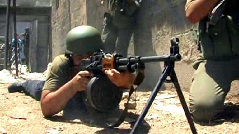 El ejército sirio retoma el control de las zonas en Damasco