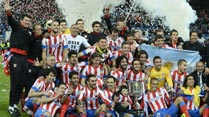 El Atltico de Madrid, campen de la Copa del Rey 2013