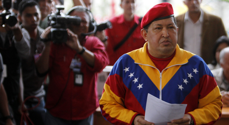 Hugo Ch&aacute;vez presentar&aacute; su candidatura para las presidenciales de octubre