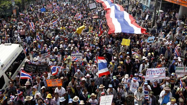 Difícil jornada de elecciones en Tailandia