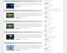 Una de las muchas páginas con enlaces P2P a través de la cual se pueden descargar archivos.