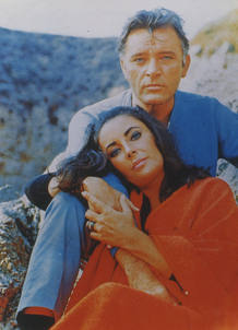 Elizabeth Taylor con Richard Burton