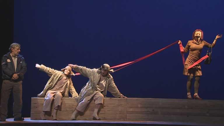 La compañía teatral Els Joglars estrena obra con un nuevo director