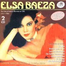 Carátula de un dico de Elsa Baeza en 1977, donde se incluyen éxitos