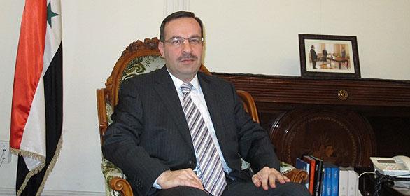 El embajador de Siria en Madrid, Hussam Edin Aala