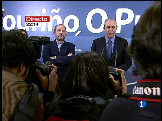 Ver v?deo  'Emilio Pérez Touriño reconoce la victoria del PP'