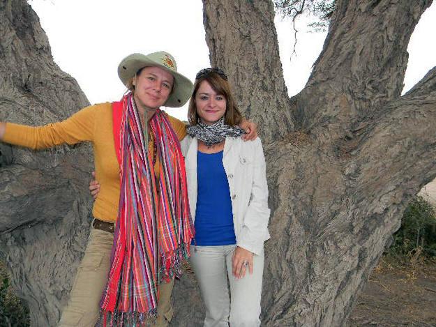 Emma y Erika volvieron fascinadas del safari - Buscamundos