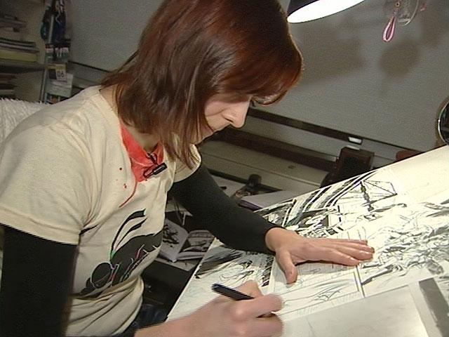 Emma Ríos, dibujante de cómics, Telediario - RTVE.es A la ...