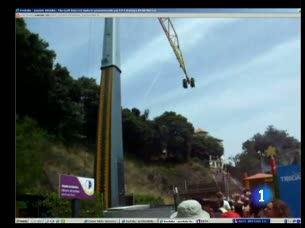 Ver vídeo  'La empresa de mantenimiento del parque del Tibidabo cambió a principios de mes'