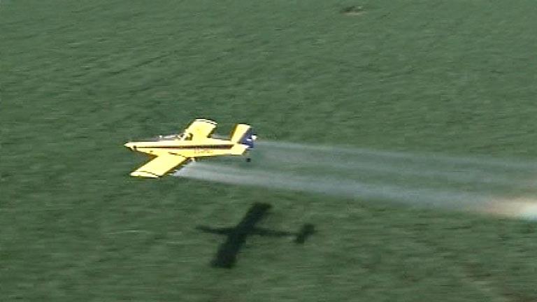 Las empresas de fumigaciones aéreas aseguran que están al borde de la quiebra