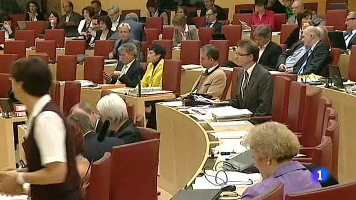 Ir al Video&nbsp;'Enchufismo' en el Parlamento de Baviera