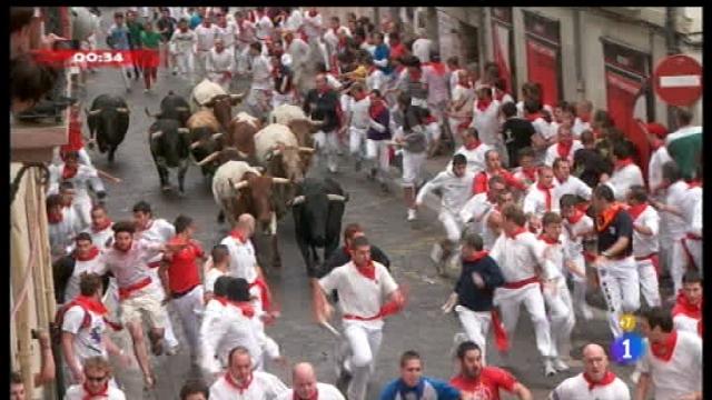 Encierros de San Fermín 2011 - 07/07/11