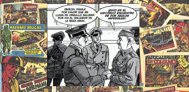 El encuentro entre Hitler y Franco recreado en 'Dos Águilas de un tiro' de Hernán Migoya, Joan Fuster y Carlos García (Perro)