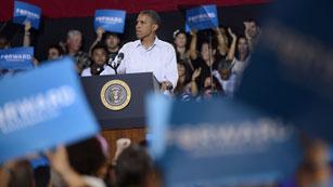 Ver vídeo  'Las encuestan dan una ventaja de 4 puntos a Obama frente a Romney'