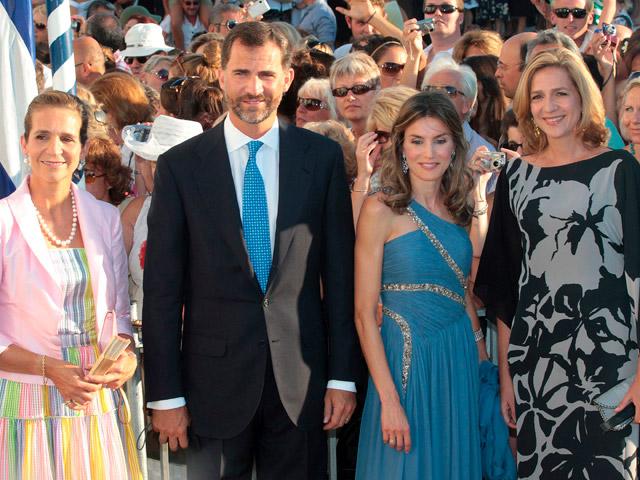En la isla griega de Spetses se celebra la boda de Nicolás de Grecia con Tatiana Blatnik