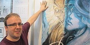 Enrique Corominas recrea la belleza de 'El retrato de Dorian Gray'