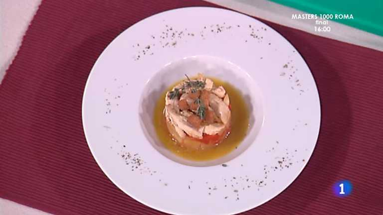 Cocina con Sergio - Ensalada de gallina en escabeche