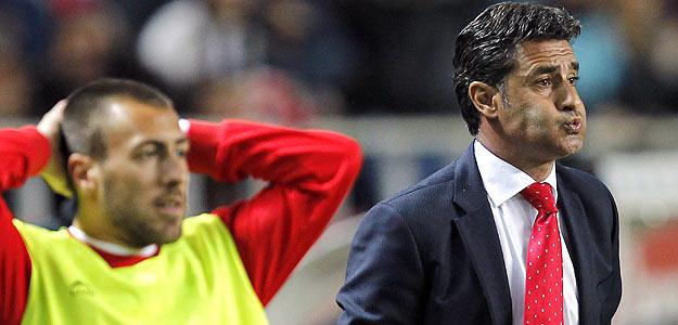 """El entrenador del Sevilla FC, José Miguel González """"Michel"""""""