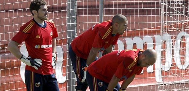 Casillas, Reina y Valdés garantizan una portería segura.