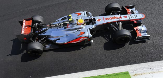 El piloto británico de Fórmula 1, Lewis Hamilton, de McLaren Mercedes