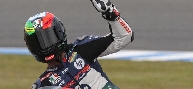 El piloto español de Kalex Pol Espargaró ha ganado en Jerez y es segundo de la general.