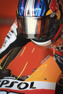 El piloto espa&ntilde;ol Dani Pedrosa (Repsol Honda).