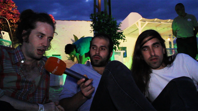 Entrevista a Crystal Fighters en el FIB 2011