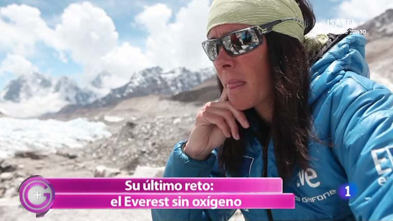 Más Gente - Edurne Pasaban presenta 'Objetivo confianza'