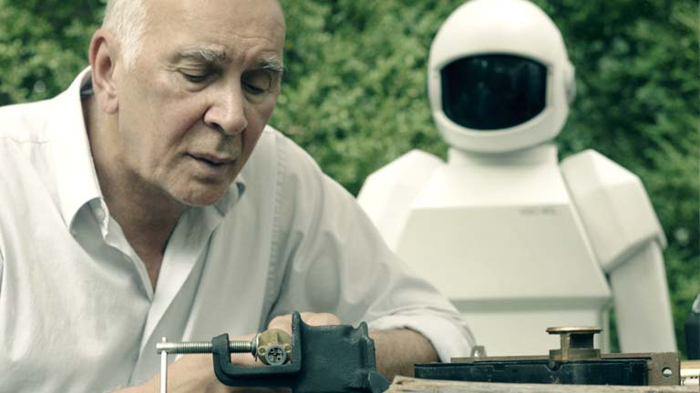 Frank Langella, en 'Un amigo para Frank': &quot;Trabajar con el robot fue estupendo; &iexcl;no se quejaba de nada!&quot;