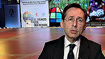 Ir al Video Entrevista con Gonzalo Robles, secretario general de Cooperación