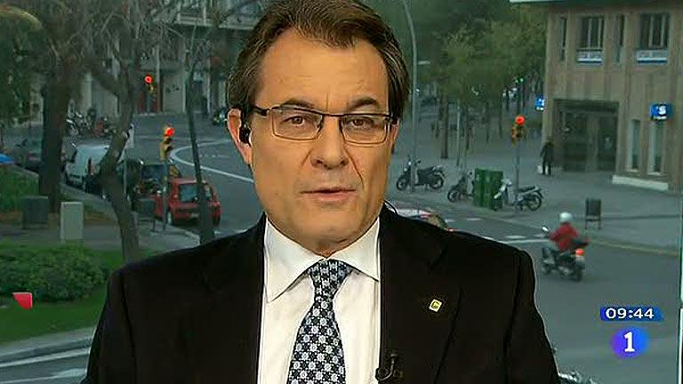 Entrevista íntegra a Artur Mas en Los Desayunos de TVE