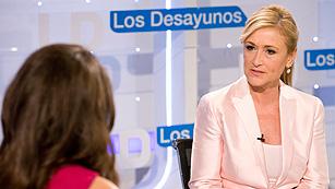 Ver vídeo  'Entrevista íntegra de Cristina Cifuentes en Los Desayunos de TVE'