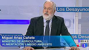 Ver vídeo  'Entrevista íntegra de Miguel Arias Cañete'