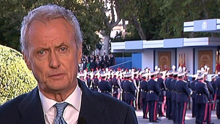 Entrevista íntegra al ministro de Defensa en el Día de la Fiesta Nacional