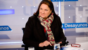 Ver vídeo  'Entrevista íntegra con la presidenta de Dia en 'Los desayunos''
