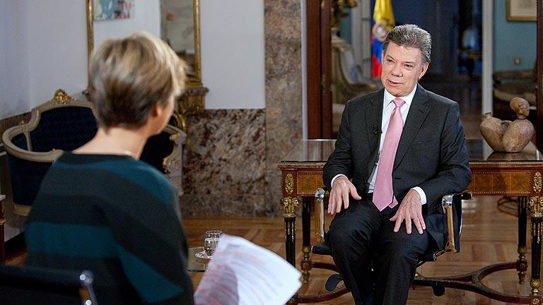 """Juan Manuel Santos, presidente de Colombia: """"Las víctimas también son conscientes de que han de hacer sacrificios"""""""