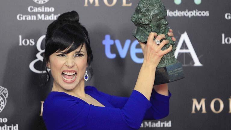 Marian Álvarez, tras ganar el Goya a Mejor Actriz