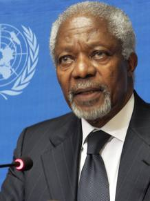 KOFI ANNAN RENUNCIA A SU PAPEL DE MEDIADOR EN EL CONFLICTO SIRIO