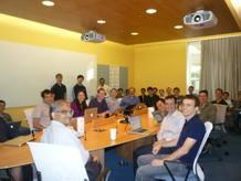 El equipo de desarrolladores que está poniendo a punto el nuevo buscador social