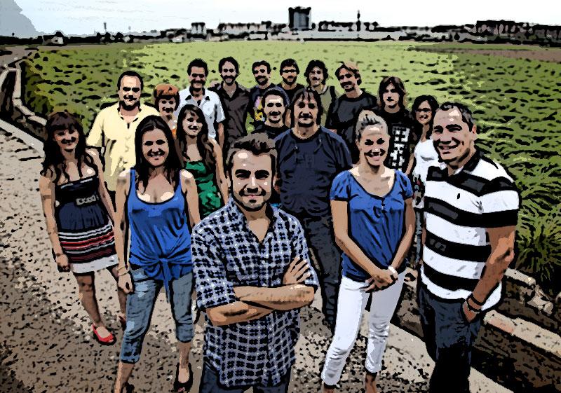 El equipo de 'Destino: España'