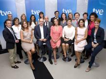 El equipo de Informativos de TVE, galardonado con el Premio Ondas