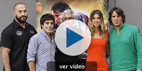 El equipo presenta la película en Madrid