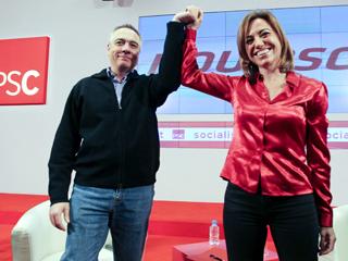 Ver vídeo  'El equipo de Rubalcaba reafirma el apoyo al candidato'