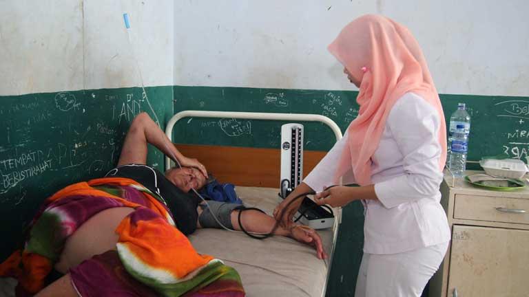Los equipos de rescate buscan a los desaparecidos en Indonesia