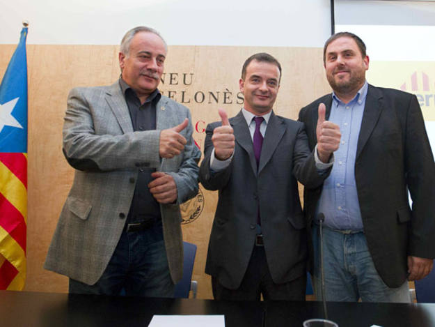 ERC se presenta con Reagrupament y Catalunya SI el 20N
