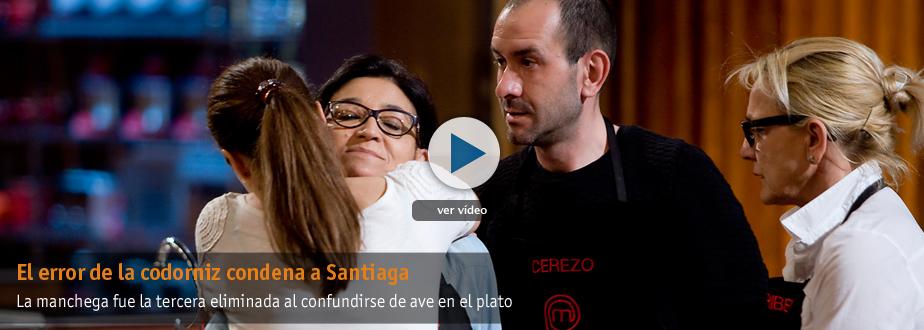 El error de la codorniz condena a Santiaga a la expulsión
