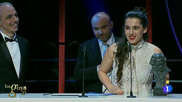 Error al leer el Goya a Mejor Canción Original, que gana 'Blancanieves'