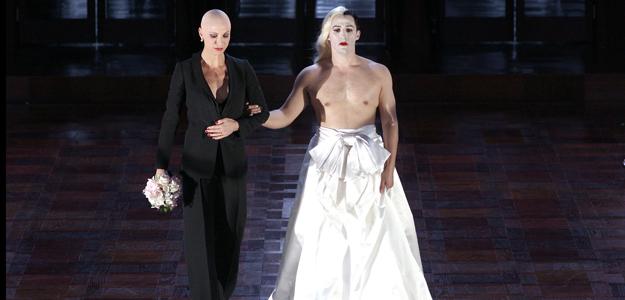 Escena final de Poppea e Nerone