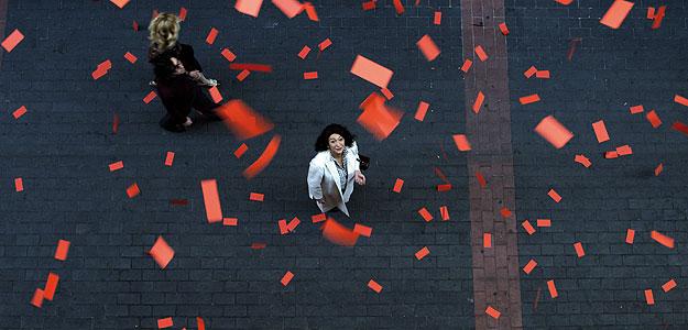 Una de las escenas finales de 'De tu ventana a la mía'